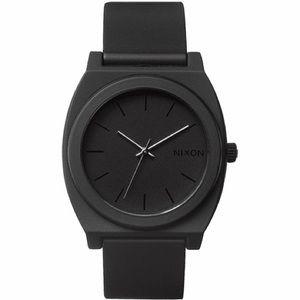 Nixon time teller P watch Matte Black